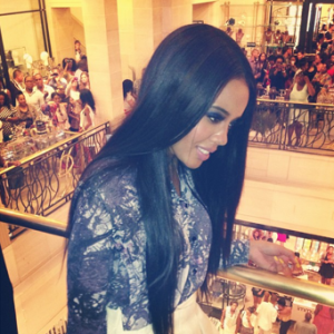 Angela Simmons at the AngelaIAM Launch Source: Instagram
